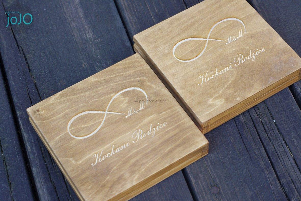 Pudełko Podziękowanie Zaproszenie ślub